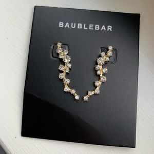 BaubleBar Farah Ear Crawler earrings. NWT